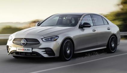 Phác thảo diện mạo mới của Mercedes-Benz C-Class thế hệ mới