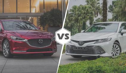 Mazda 6 vs Toyota Camry: lấy công nghệ đấu thương hiệu
