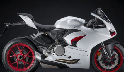 Ducati ra mắt Panigale V2 White Rosso với màu trắng quyến rũ