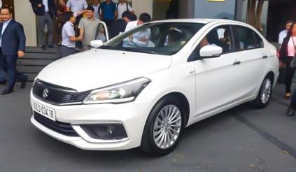 Suzuki Ciaz 2020 lộ giá, nằm giữa Hyundai Accent và Toyota Vios