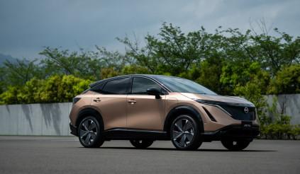 Nissan trình làng SUV chạy điện Ariya - đơn giản là 'miễn chê'