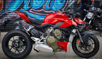 Soi chi tiết Ducati Streetfighter V4 đầu tiên tại Việt Nam