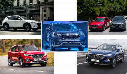 Có tiền tỷ, mua Honda CRV hay chọn các hàng ngon sau đây?
