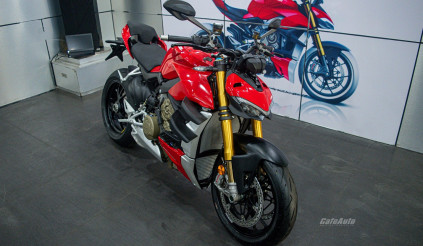 Chi tiết Ducati Streetfighter V4 nhập khẩu chính hãng đầu tiên miền Bắc, cạnh tranh trực tiếp với Kawasaki Zh2