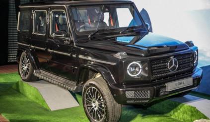 Mercedes-Benz G350d tại Malaysia có giá bán 5,6 tỷ đồng