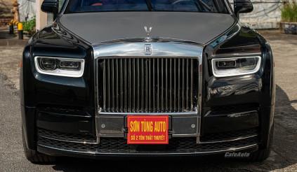 Khám phá Rolls-Royce Phantom 8 màu đen duy nhất Việt Nam, đỉnh cao của sự sang trọng có giá lên tới hơn 80 tỷ