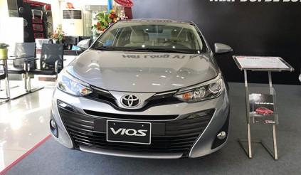 Ô tô cỡ B giá dưới 600 triệu giảm giá quyết liệt tại Việt Nam: Toyota Vios giảm đến 15 triệu đồng
