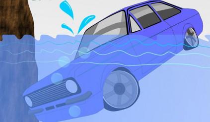 Những nguyên tắc quý giá giúp bạn thoát khỏi tử thần khi xe chìm xuống nước