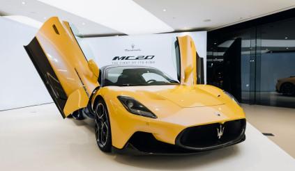 Siêu xe Maserati MC20 2021 giá cao ngất ngưởng vẫn cháy hàng