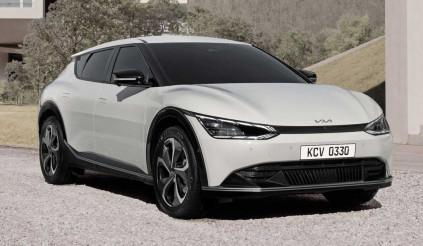 Siêu phẩm xe điện Kia EV6 chính thức lộ diện: Đẹp không kém xe Mẹc, bỏ luôn lưới tản nhiệt mũi hổ truyền thống