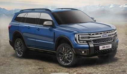 Ford Everest đời mới lần đầu lộ diện: Thêm công nghệ, tăng sức mạnh để đấu Hyundai Santa Fe