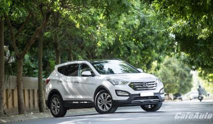 """Hyundai SantaFe 2015: Chiếc xe đáng """"đồng tiền bát gạo"""""""