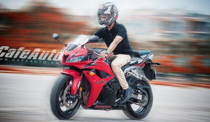 Honda CBR600RR: Sinh ra dành cho đường phố