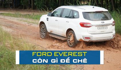 Ford Everest: còn gì để chê