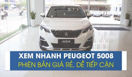 Thực tế Peugeot 5008 phiên bản tiêu chuẩn, dễ tiếp cận
