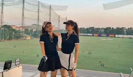 Khi các người đẹp Việt biến sân golf thành sàn diễn thời trang