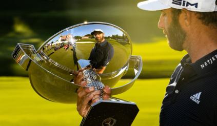Dustin Johnson là golfer xuất sắc nhất PGA Tour 2020