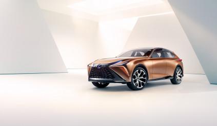 Ấn tượng với bản concept Crossover LF-1 Limitless của Lexus
