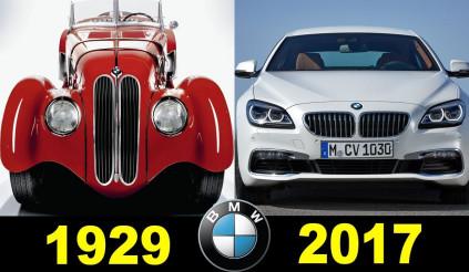 Ngược dòng thời gian với BMW bằng ảnh