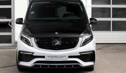 Mercedes V-Class ngầu hơn với gói độ '' Inferno'' từ hãng TopCar
