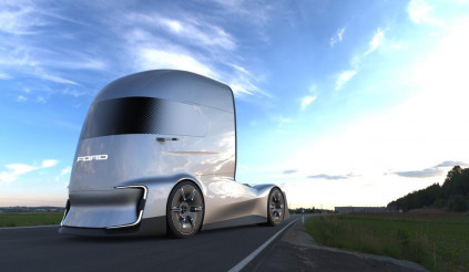 F-Vision Future Truck Concept – Câu trả lời của Ford dành cho Tesla Semi