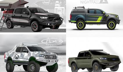 Khám phá 7 mẫu bán tải độ của Ford Ranger 2019