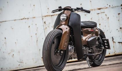 Ngắm Honda Super Cub 110 lột xác với phong cách Street Cub