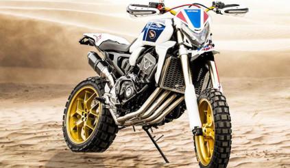 """Honda CB1000R hóa thân """"cào cào"""" tung hoành trên mọi địa hình"""