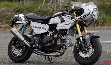 Ngắm Honda Monkey 125 mang đậm phong cách cafe racer Nhật Bản