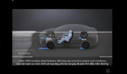 Công nghệ i-Activ AWD của Mazda ưu việt hơn
