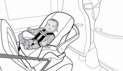 Ghế ô tô cho trẻ em - Rất nguy hiểm nếu dùng sai