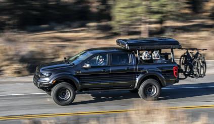 Với chiếc Ford Ranger này, bạn có thể sinh tồn tại bất cứ vùng đất nào
