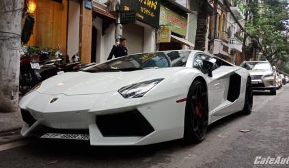 Lamborghini Aventador LP700-4 ra Thủ đô đón Tết