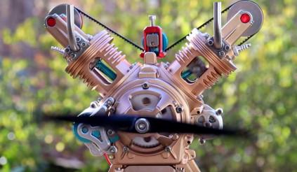 Thời Covid, xem clip lắp ráp động cơ để giết thời gian