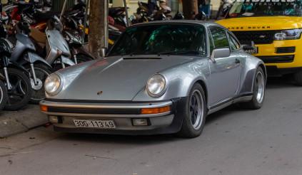 Chiêm ngưỡng Porsche 930 Turbo độc nhất  Việt Nam ra biển Hà Nội