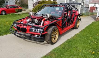 Ngắm chiếc BMW 3 Series 'cởi trần' mạnh 1000 mã lực