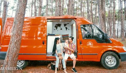 Cặp vợ chồng 9x bỏ 250 triệu biến Ford Transit thành ngôi nhà tiện nghi
