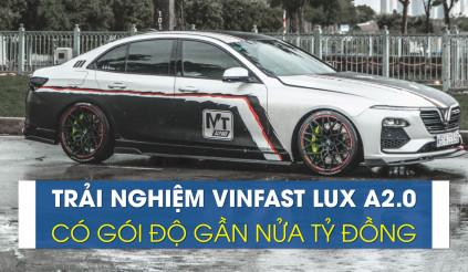 """Vinfast Lux A 2.0 """"độ"""" có một không hai ở Sài Thành"""