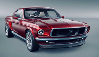 Người Nga hô biến xe Tesla thành Ford Mustang cổ, hiệu năng ngang hypercar