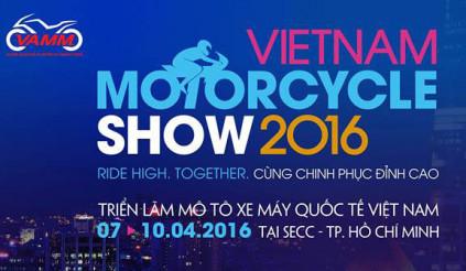 Triển lãm Mô tô Xe máy Việt Nam 2016