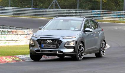 Phiên bản 'hot' của Hyundai Kona bị 'tóm sống'