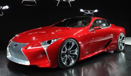 Detroit Auto Show 2012: Bắt đầu nóng với xe thể thao