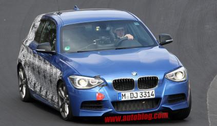 BMW M135i lộ diện tại Nurburgring