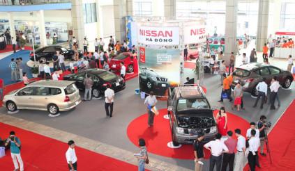 Vietnam AutoExpo 2012 cơ hội kích cầu thị trường ôtô, xe máy