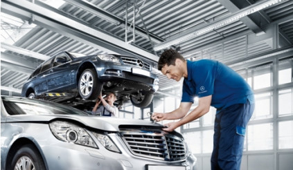 Mercedes tăng thời gian bảo hành phụ tùng