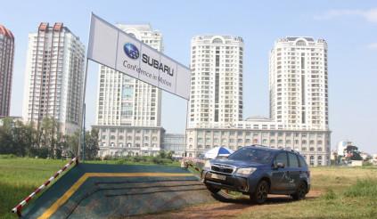 Off-road xe Subaru ngay tại Sài Gòn