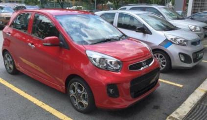 Kia Morning facelift lặng lẽ bán ra tại Malaysia