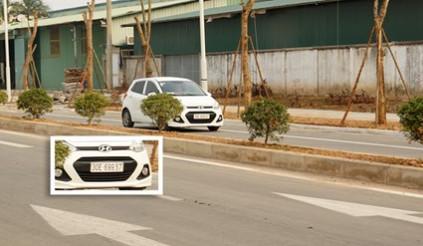 Ô tô, xe máy 'đi theo sở thích' trên đường nghìn tỷ giữa Thủ đô