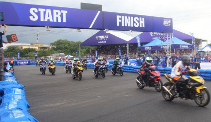 Yamaha tổ chức 4 giải đua xe trong năm 2017