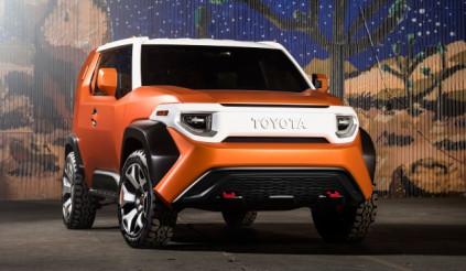 """Nghi vấn về khả năng ra mắt crossover cỡ nhỏ Toyota """"TJ Cruiser"""""""